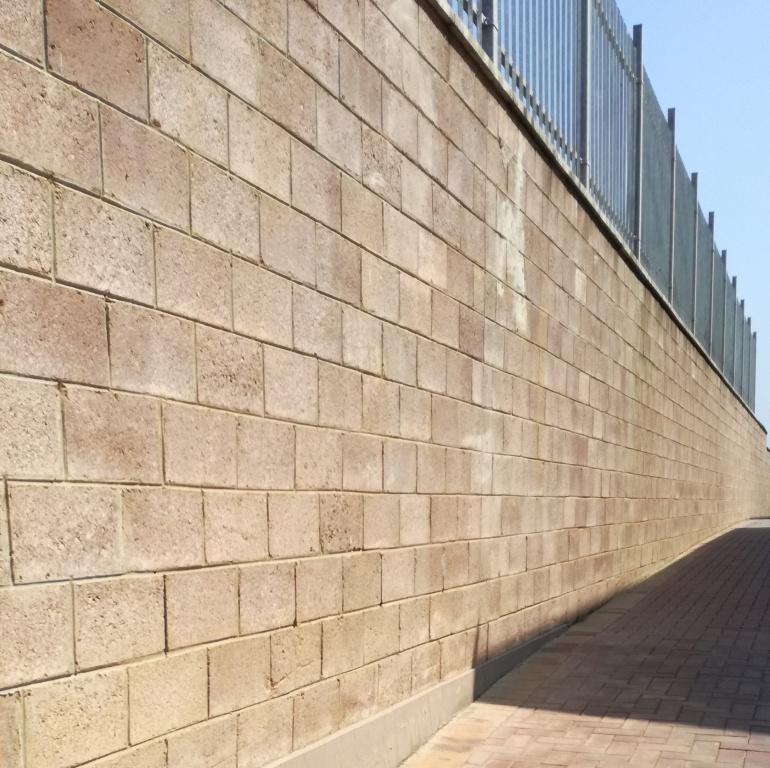 M200 Block Wall Homebase