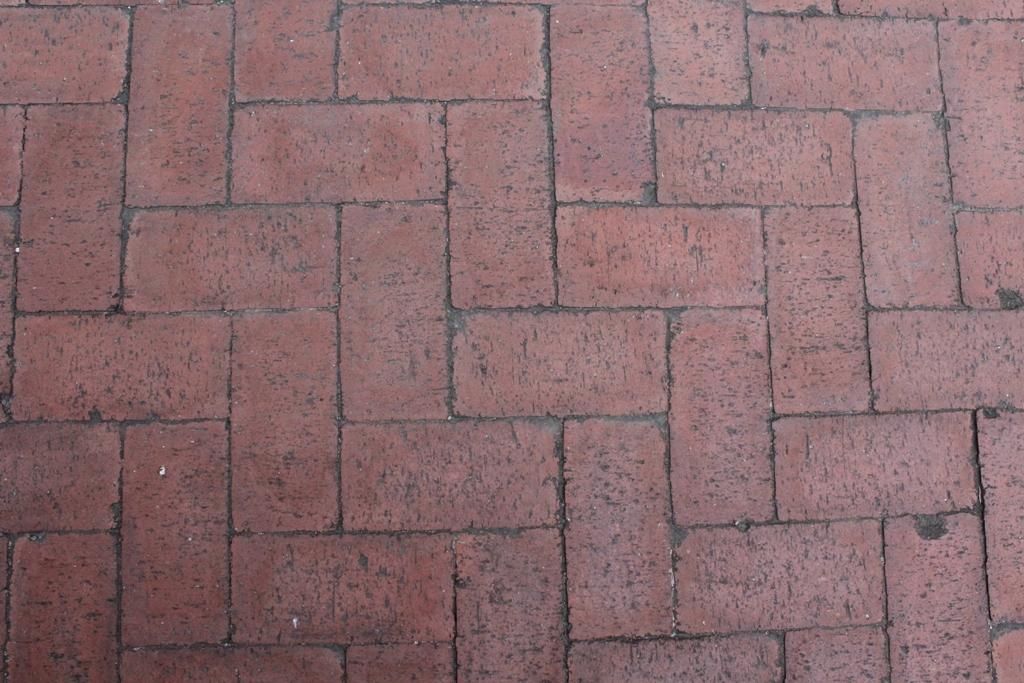 Interlocking pavers at Homebase